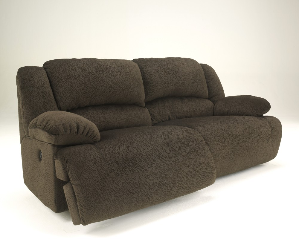 Toletta - Chocolate - 2 Seat Reclining Sofa