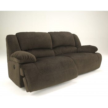 Toletta - Chocolate - 2 Seat Reclining Sofa