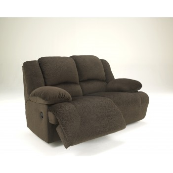 Toletta - Chocolate - Reclining Loveseat