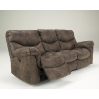 Alzena - Gunsmoke - Reclining Power Sofa