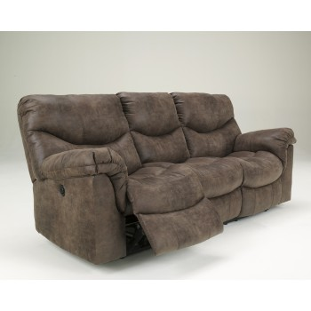 Alzena - Gunsmoke - Reclining Sofa