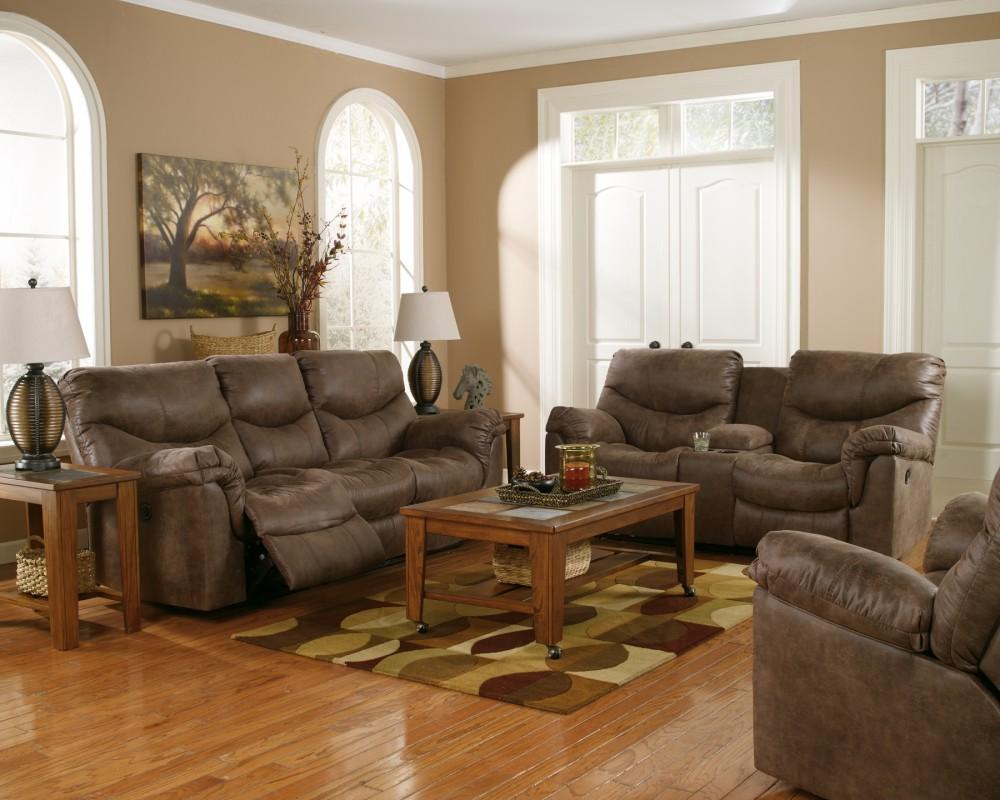 Alzena - Gunsmoke - Reclining Sofa