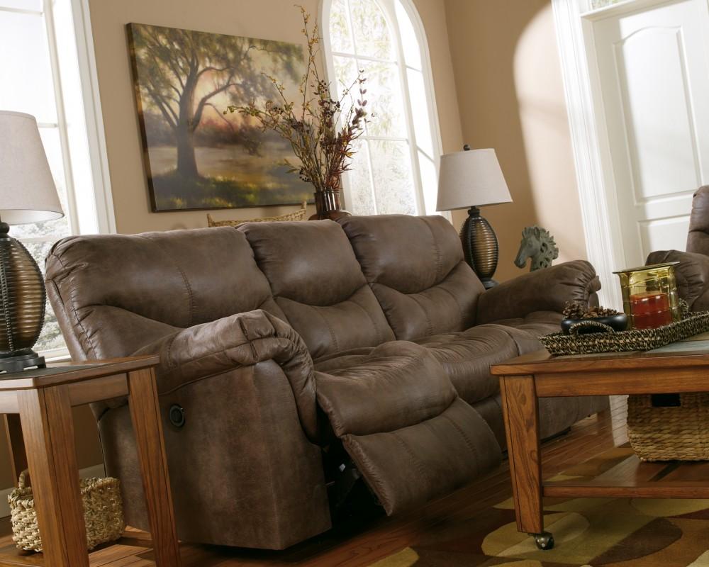 Alzena Gunsmoke Reclining Sofa 7140088 Reclining
