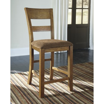 Krinden - Upholstered Barstool (Set of 2)