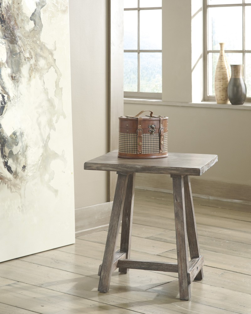 Rustic Accents - Chairside End Table
