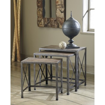 Rustic Accents - Nesting End Tables (Set of 3)