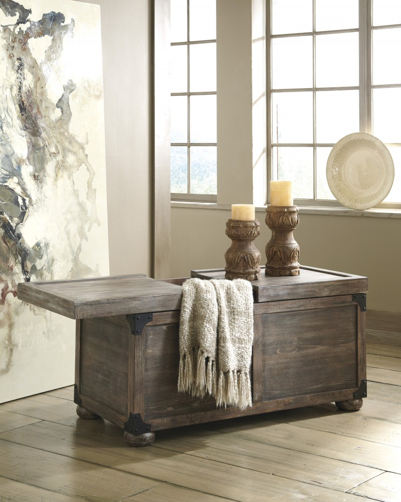 Rustic Accents - Storage Cocktail Table