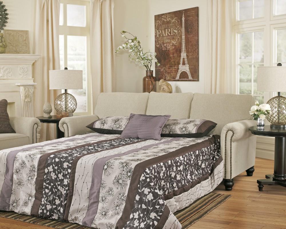 Milari - Linen - Queen Sofa Sleeper