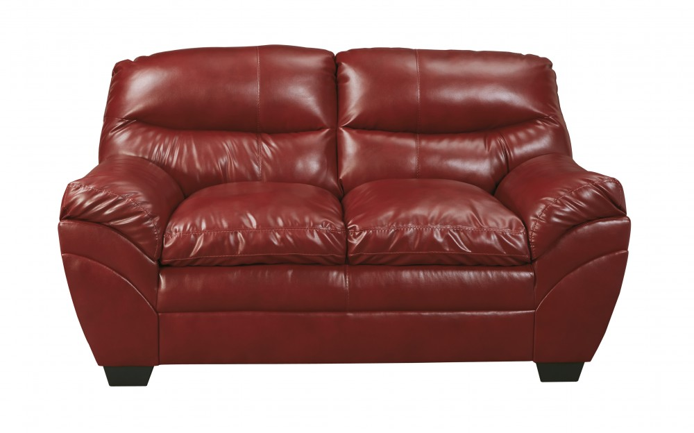 Tassler DuraBlend - Crimson - Loveseat