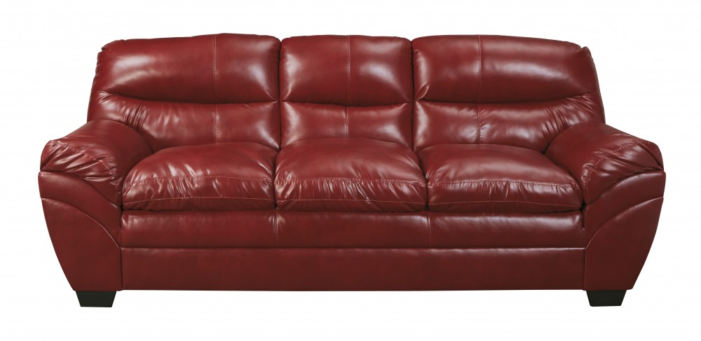 Tassler DuraBlend - Crimson - Sofa | 4650038 | Leather Sofas | Mirab ...