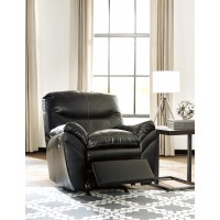 Tassler DuraBlend - Black - Rocker Recliner