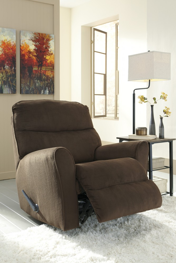 Cossette - Chocolate - Rocker Recliner