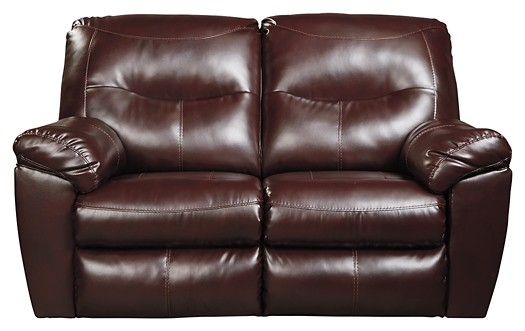 Outstanding Kilzer Durablend Mahogany Reclining Loveseat Pdpeps Interior Chair Design Pdpepsorg