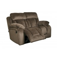 Stricklin - Chocolate - Reclining Power Loveseat
