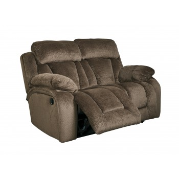 Stricklin - Chocolate - Reclining Loveseat