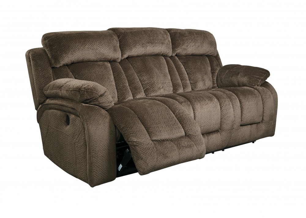 Stricklin - Chocolate - Reclining Sofa