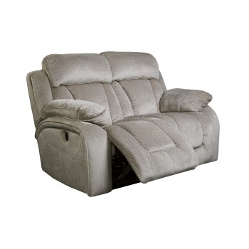 Stricklin - Pebble - Reclining Power Loveseat