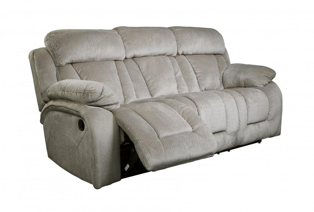 Stricklin - Pebble - Reclining Sofa