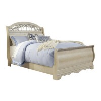 Catalina Queen Sleigh Footboard