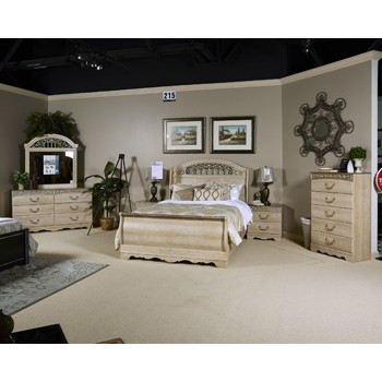 dark cherry sleigh pc rm with product belcourt sets bedroom br headboard queen wood platform