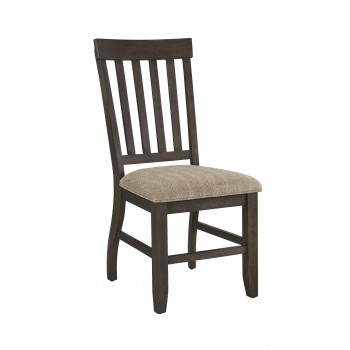 Dresbar - Grayish Brown - Dining UPH Side Chair (2/CN)