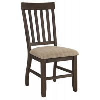 Dresbar - Grayish Brown - Dining UPH Side Chair (2/CN)