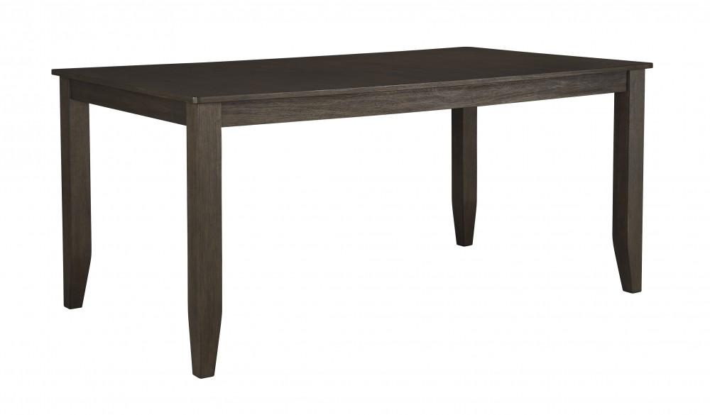 Dresbar - Grayish Brown - Rectangular Dining Room Table