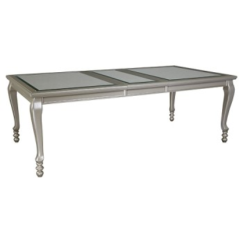 Coralayne - Silver Finish - RECT Dining Room EXT Table