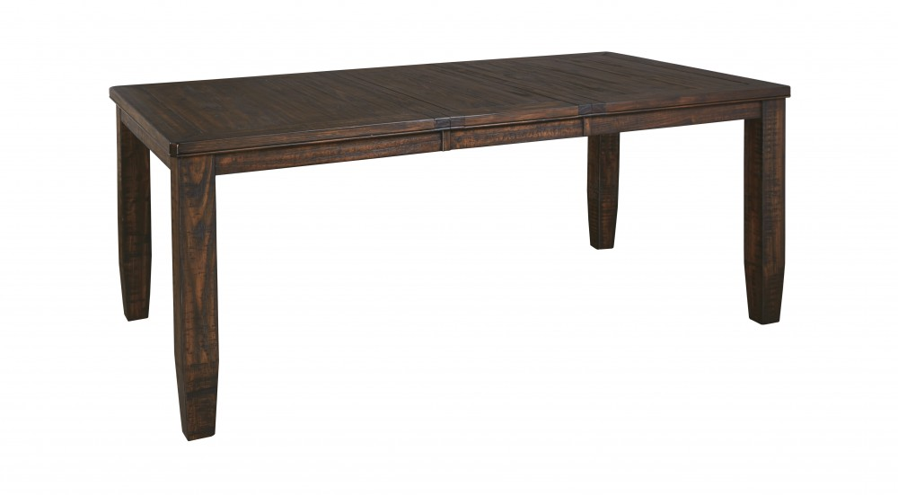 Trudell - Golden Brown - RECT Dining Room EXT Table