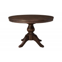 Trudell - Golden Brown - Round DRM Pedestal Table Base