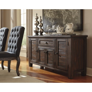 Trudell   Golden Brown   Dining Room Server | D658 60 | Servers | Price  Busters Furniture