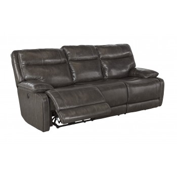 Palladum - Metal - Reclining Power Sofa