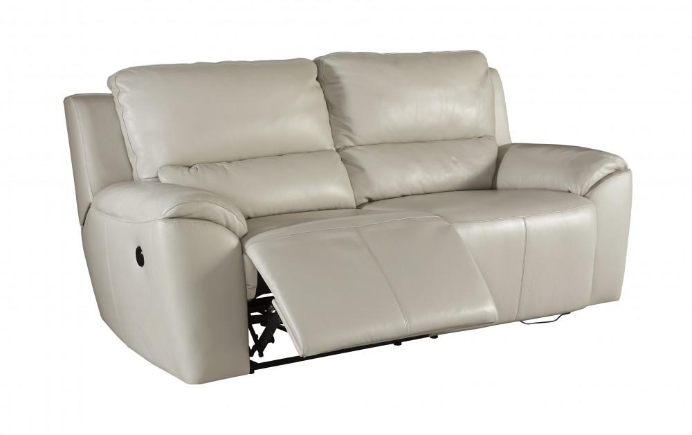 Valeton - Cream - 2 Seat Reclining Power Sofa