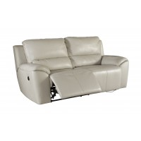 Valeton - Cream - 2 Seat Reclining Power Sofa