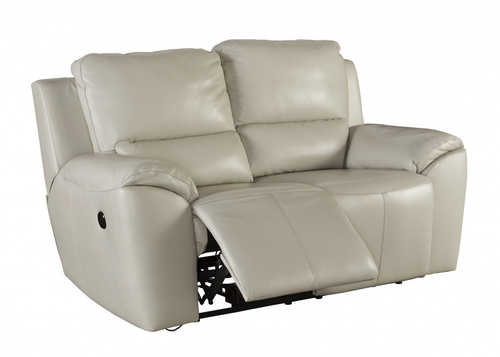 Incredible Valeton Cream Reclining Power Loveseat U7350074 Caraccident5 Cool Chair Designs And Ideas Caraccident5Info