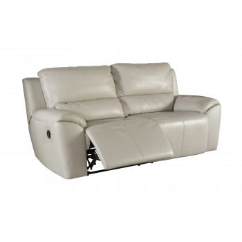 Valeton - Cream - 2 Seat Reclining Sofa