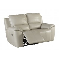 Valeton - Cream - Reclining Loveseat