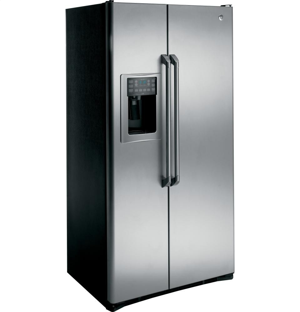 GENERAL ELECTRIC GE Cafe Series 24.6 Cu. Ft. Counter-Depth Side-by-Side Refrigerator