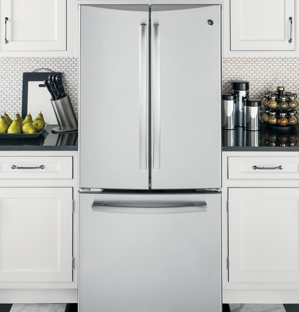 GENERAL ELECTRIC GE Profile Series 20.0 Cu. Ft. French Door Refrigerator