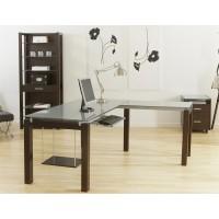 Ballard L Desk - Wenge