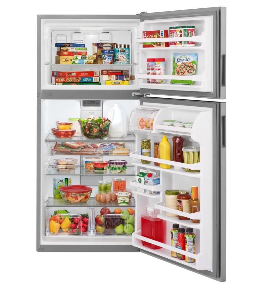 maytag refrigerator ice maker frozen