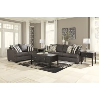 Levon - Charcoal - Sofa & Loveseat
