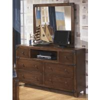 Delburne Dresser & Mirror