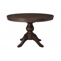 Trudell - Golden Brown - Round Dining Room Table