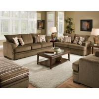 AMERICAN FURNITURE MANUFACTURING Cornell Cocoa Sofa