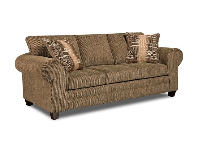 AMERICAN FURNITURE MANUFACTURING Dickens Hickory Sofa
