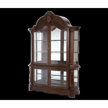 Amini Curio 7050554 Curio Cabinets Mega Furniture