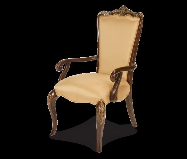 AMINI Fabric Back Arm Chair
