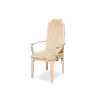 AMINI Biscayne West Arm Chair w/Stainless Steel Arm Sand