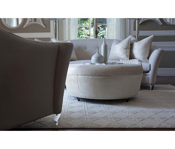 Amini Bel Air Park Button Sofa Clear 9002815pltnm001